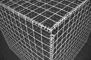 Формы корпусов из сеток для габионов.