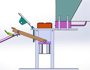 Ручной станок в 3D.