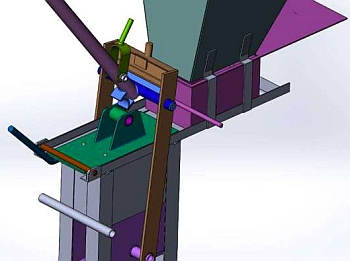 3D модель станка.