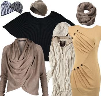 Вяжем модные вязаные вещи сами.