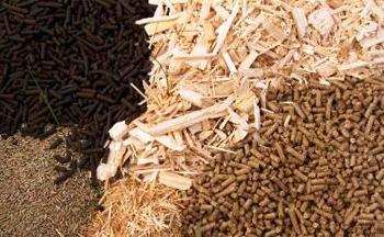 Процесс производства пеллетов.