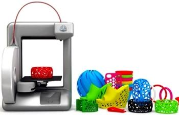 Игрушки напечатаны на 3D-принтере.