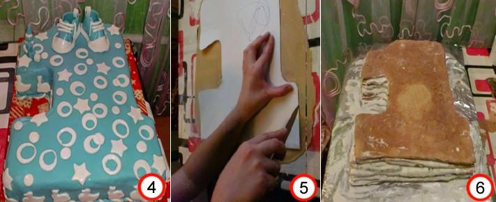 Как сделать цифры из мастики в домашних условиях