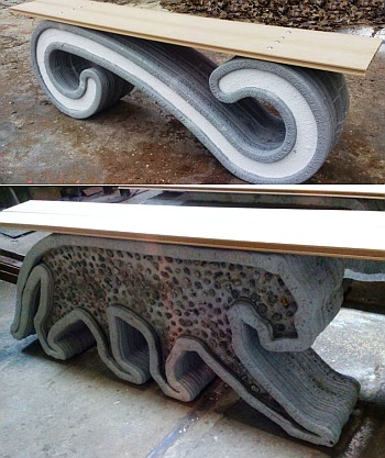Принтер по бетону купить фибробетон декоративные панели
