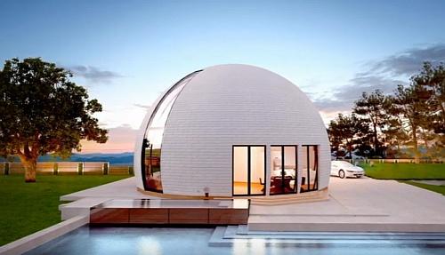 Дом-купол.