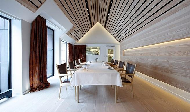 Декор из деревянных стеновых панелей