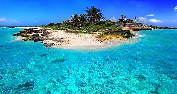 Красивый маленький остров