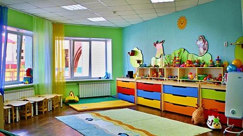 оформление детского сада на дому.